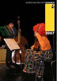 MUSIKSCHULE DER STADT FELDKIRCH - Musikschulwerk