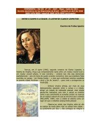 Entre o campo e a cidade: O Lustre de Clarice Lispector - Revista ...