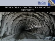 tecnologia y control de calidad de shotcrete - m2r2.expomin.cl