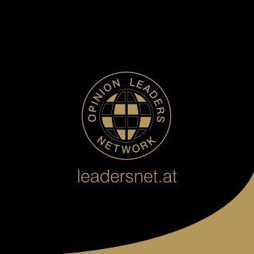 Imagefolder als PDF - Opinion Leaders Network