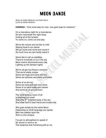 Download the Lyrics (pdf) - NASA