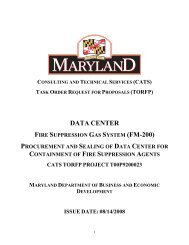 Data Center Fire Suppression Gas System (FM-200) Procurement ...