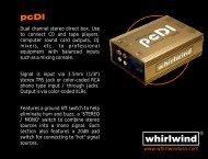 pcDI manual - Whirlwind