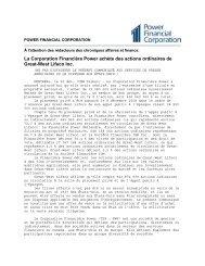 Télécharger - Power Financial Corporation