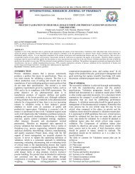 process validation of solid oral dosage form and process validation ...