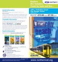 1597 NC7 Yorkshire Coast:1597 NC7 Yorkshire Coast - Northern Rail