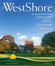The Art of Island Living - WestShore Chamber of Commerce