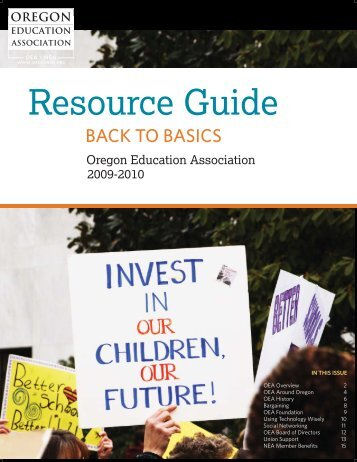 Resource Guide - Oregon Education Association