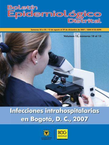 Infecciones intrahospitalarias - Secretaría Distrital de Salud
