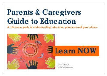 Learn NOW - Parents and Caregivers Guide to ... - Berry Street