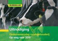 Uitnodiging - Melkveebedrijf