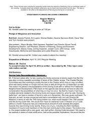 Regular Meeting May 8, 2012 7:00 PM Call to Order Mr ... - Streetsboro