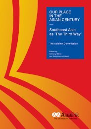 OUR PLACE IN THE ASIAN CENTURY - Asialink - University of ...