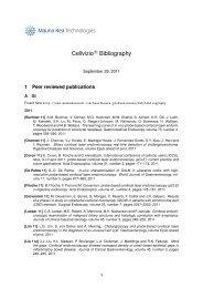 Cellvizio bibliography