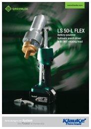Download Broschüre LS 50-L FLEX - Gustav Klauke GmbH