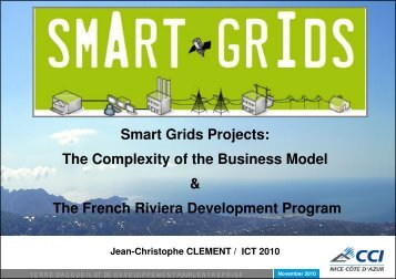 Smart Grids Projects: The Complexity of the Business Model & The ...