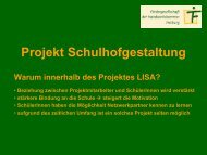 Projekt Schulhofgestaltung (PDF) - Robert Bosch Stiftung