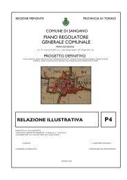 Relazione illustrativa - Comune di Sangano