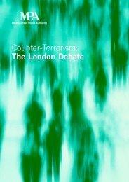 Counter-Terrorism: The London Debate