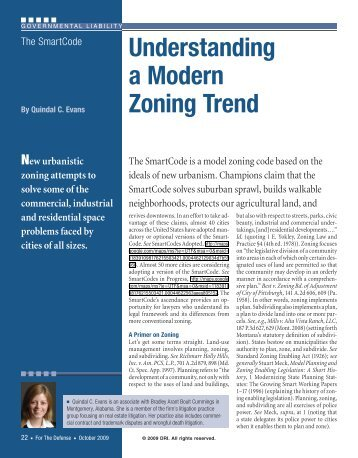 Understanding a Modern Zoning Trend - Bradley Arant Boult ...