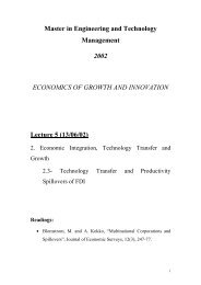 Technology Transfer and Productivity Spillovers of FDI