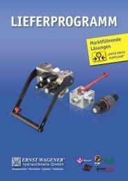 Marktführende Lösungen - Ernst Wagener Hydraulikteile GmbH