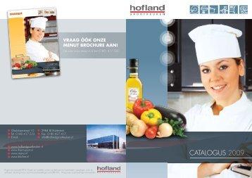 CATALOGUS 2009 - Hofland Grootkeuken BV