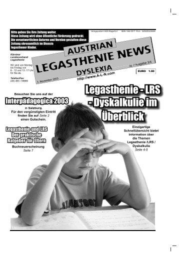 Kontaktadressen Landesverbu00e4nde Legasthenie und Dyskalkulie