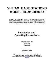 TBS-X50/8.33 - Dallas Avionics, Inc.