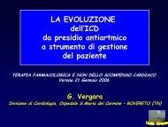 Evoluzione del defibrillatore impiantabile - Cuorediverona.it