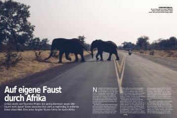 Auf eigene Faust durch Afrika