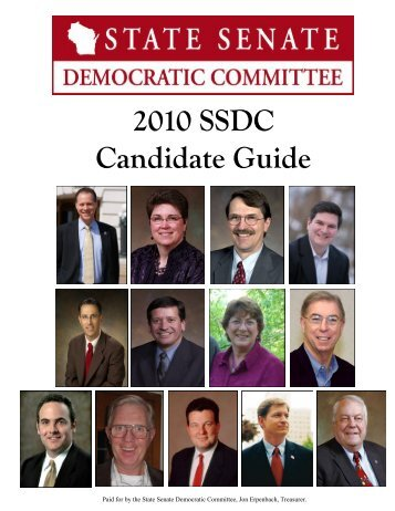 2010 SSDC Candidate Guide - Wisconsin Grocers Association
