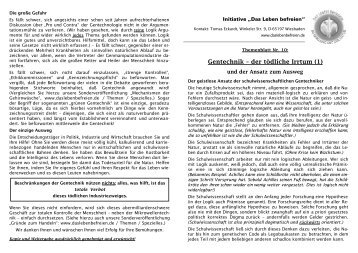 10. Gentechnik I.pdf - Das Leben befreien