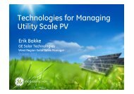 Utility Scale Management of Large Capacity Inverters - International ...