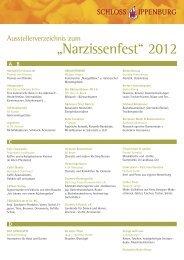 """Narzissenfest"" 2012 - Schloss Ippenburg"