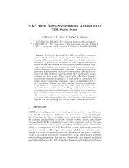 MRF Agent Based Segmentation: Application to ... - Mistis - Grenoble