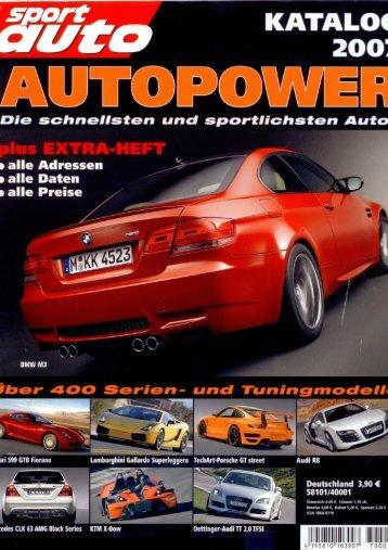 Sport auto Katalog - Sportec