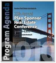 Plan Sponsor Real Estate Conference - Pension Real Estate ...
