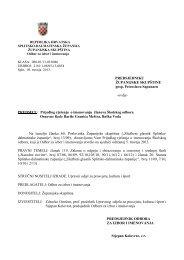 Prijedlog rješenja o imenovanju članova Školskog odbora Osnovne ...