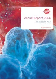 Annual Report 2006 - Photocure