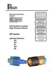 HP-series - Carl Kurt Walther GmbH & Co. KG