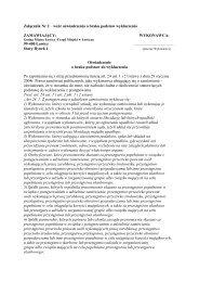 Załącznik Nr 2 – wzór oświadczenia o braku podstaw ... - Łowicz