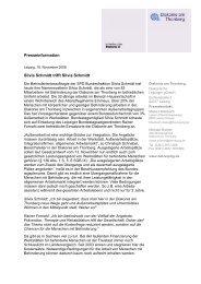 Presseinformation (PDF) - Diakonie am Thonberg