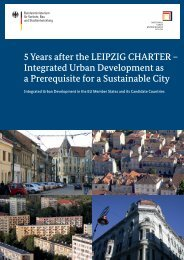 5 Years after the LEIPZIG CHARTER - Nationale ...