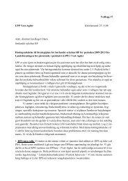 Vedlegg 17 Høringsuttalelse fra LPP til Strategiplanen 2009-2013.pdf