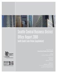 2008 CBD Office Market Study - Downtown Seattle Association