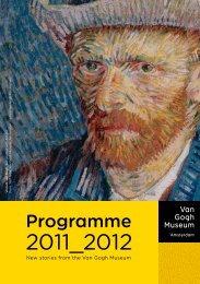 Programme 2011 2012 - Van Gogh Museum