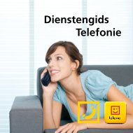 Dienstengids Telefonie - Klantenservice - Telenet