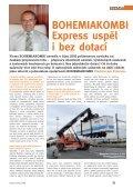 Doprava 2/2008: Evropa hledá cestu; BOHEMIAKOMBI Express ... - Page 2