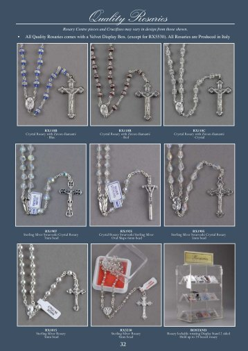 Quality Rosaries - Christian Supplies